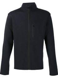 Aztech Mountain 'Matterhorn' Zip Up Sweater Black