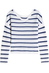 81 Hours Striped Cashmere Pullover