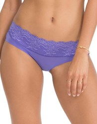 Spanx Lace Accented Hipster Panties Mystic Purple