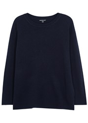 James Perse Navy Cashmere Jumper