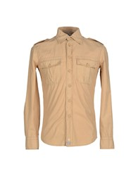 Replay Shirts Shirts Men Sand
