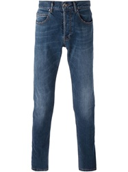 Eleventy Slim Fit Jeans Blue