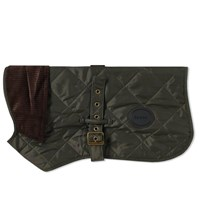 Barbour Quilted Dog Coat Green