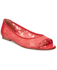 French Sole Fs Ny Noir Flats Women's Shoes Coral