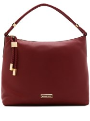 Michael Michael Kors Large Lexington Hobo Tote Red