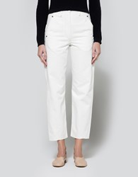 Christophe Lemaire Twisted Pants Off White