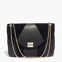 Madewell Sezane Chain Bag True Black