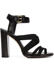 Creatures Of The Wind Chunky Heel Sandals Black