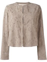 Drome Zipped Jacket Nude Neutrals