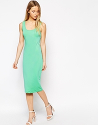 Jasmine Bodycon Vest Dress Mint