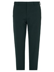 Joseph Jack Straight Leg Trousers Green