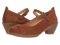 El Naturalista Aqua N5322 Wood Shoes Brown