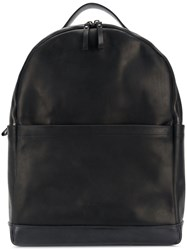 Marsell Large Double Compartment Backpack Black