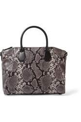 Michael Michael Kors Snake Effect Leather Tote Snake Print