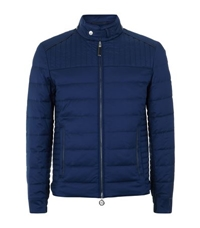 Stefano Ricci Quilted Silk Bomber Jacket