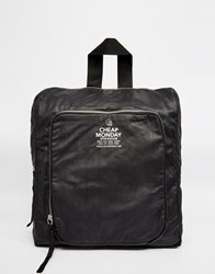 Cheap Monday Clean Backpack Black