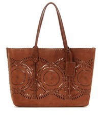 Polo Ralph Lauren Suede Shopper Brown