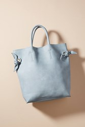 Anthropologie Boe Tote Bag Iris Blue