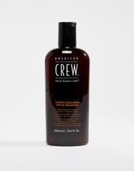 American Crew Power Cleanser Shampoo 250Ml Power Cleanser Clear