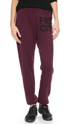Freecity Feather Weight Sweatpants Indian Wine