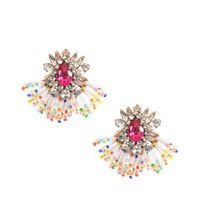 Shourouk Mini Cascade Earrings