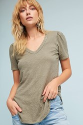 Anthropologie Outfield Tee Green