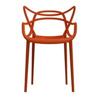 Kartell Masters Chair Rusty Orange