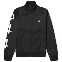 Fred Perry X Made Thought 544 Taped Track Jacket Black