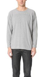 Chimala Long Sleeve Wide Tee Top Gray