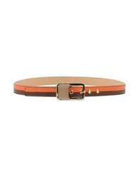 Furla Belts Orange