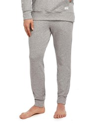 2Xist Slim Fit Heathered Jogger Sweatpants Gray Pattern