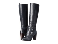 Nine West Skylight Navy Leather Women's Boots Blue