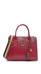 Marc Jacobs Big Shot Satchel Deep Maroon Multi