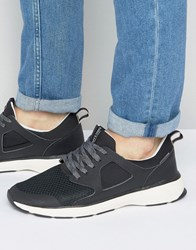 Jack And Jones Hatton Mesh Trainers Black