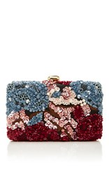 Elie Saab Beaded Sequin Clutch Multi