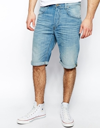 Lee 5 Pocket Denim Shorts Straight Fit Summer Worn Summerworn