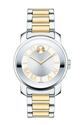 Movado Women's 'Bold' Two Tone Bracelet Watch 32Mm