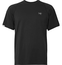 Arc'teryx Cormac Ostria Running T Shirt Black