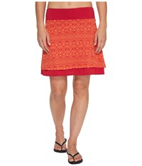 Marmot Samantha Skirt Persian Red Sage Women's Skirt