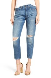 Blank Nyc Women's Blanknyc Ripped Mom Jeans