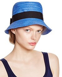 Aqua Two Tone Cloche Bluette