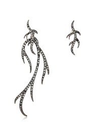 Federica Tosi Twig Asymmetrical Earrings