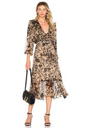 House Of Harlow X Revolve Annisa Dress Taupe