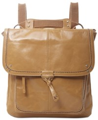 The Sak Ventura Small Leather Backpack Camel