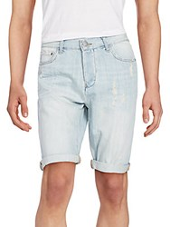 Ck Calvin Klein Beyond Blue Tap Denim Shorts