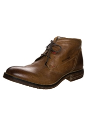 S.Oliver Laceup Boots Tan Brown