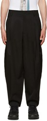 Juun.J Black Balloon Trousers