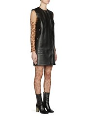 Acne Studios Sleeveless Leather Dress Black