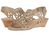 Me Too Sienna Pale Gold Women's Wedge Shoes