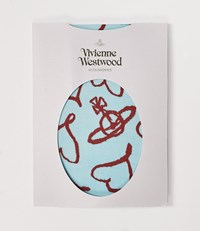 Vivienne Westwood Heart And Orb Stockings Blue